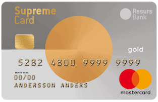 Bild Supreme Card Gold